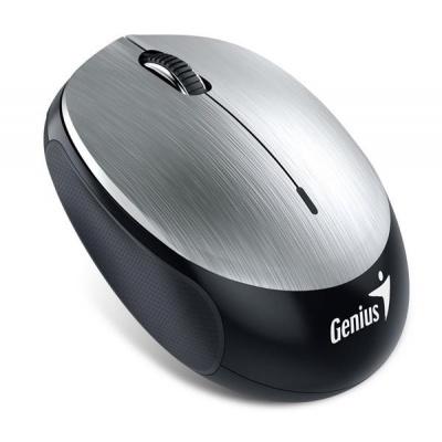 GENIUS myš NX-9000BT/ Bluetooth 4.0/ 1200 dpi/ bezdrátová/ dobíjecí baterie/ stříbrná