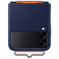 Samsung silikonový kryt s poutkem EF-GF711TN pro Galaxy Z Flip3, modrá