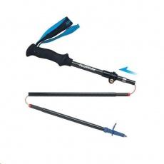 Naturehike carbonová skládací treková hůlka ST07 98-115cm 175g - modrá