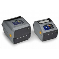 Zebra ZD621t, 12 dots/mm (300 dpi), cutter, disp., RTC, USB, USB Host, RS232, BT (BLE), Ethernet, grey