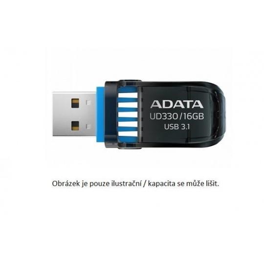 ADATA Flash Disk 64GB UD330, USB 3.1 DashDrive, černá