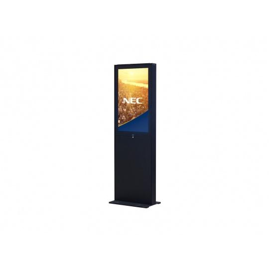 "NEC 55"" Freestand Storage - Black - Signage Indoor stojan, cierny, pre V554, P554,pre finalizaciu ponuky, kontaktujte PM"