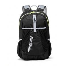 Naturehike ultralight sportovní sbalitelný batoh 22l 190g - černý