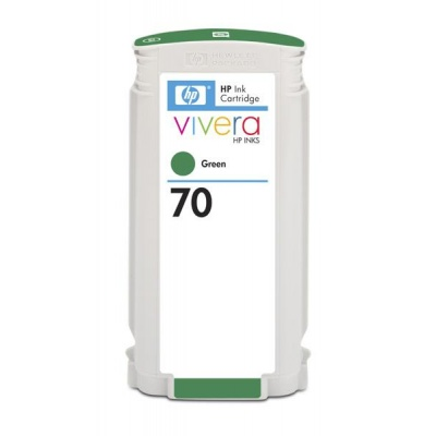 HP 70 Green DJ Ink Cart, 130 ml, C9457A