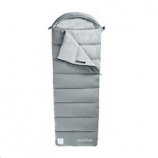 Naturehike pratelný spacák M400 bavlněný 1850g - šedý