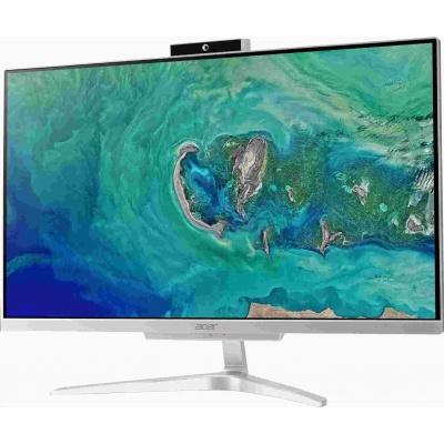 """ACER PC AiO Aspire C22-865 - i3-8130U@2.2GHz,IPS,21.5"""" FHD,4GB,1TB54+128SSD,noDVD,Intel HD,čt.pk,HDMI,kl+mys,W10H"""