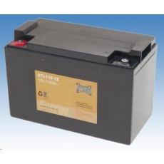 Baterie - CTM CTL 110-12 (12V/110Ah - M6), životnost 10-12let