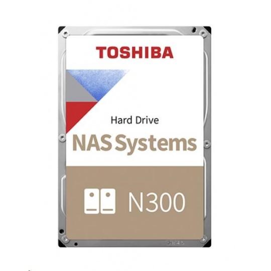 "TOSHIBA HDD N300 NAS 10TB, SATA III, 7200 rpm, 256MB cache, 3,5"", BULK"