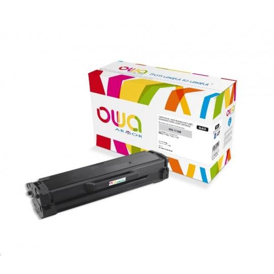 OWA Armor toner pro DELL B1160, 1163, 1165, 1500 Stran, 593-11108, černá/black