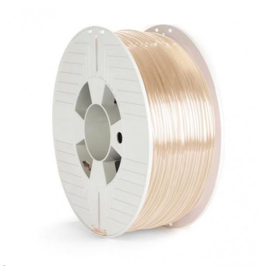VERBATIM 3D Printer Filament PET-G 2.85mm, 123m, 1kg transparent