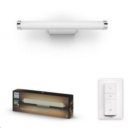 PHILIPS Adore Nástěnné svítidlo, Hue White ambiance, 24V, 1x13W, integr.LED, Bílá