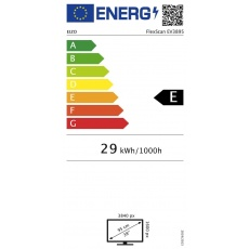 "EIZO MT IPS LCD LED 37,5"", EV3895-BK,  16:9, 3840 x 21600, 300cd, 1000:1, DisplayPort, 2 x HDMI"