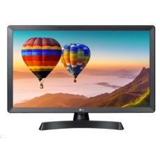 "LG MT TV LCD 23,6""  24TN510S - 1366x768, HDMI, USB, DVB-T2/C/S2, repro, SMART"