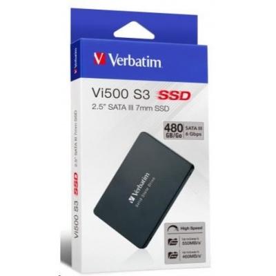 """VERBATIM SSD Vi500 S3 120GB SATA III 7mm, 2.5"""""""