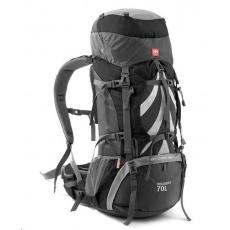Naturehike expediční batoh 70+5l - šedý