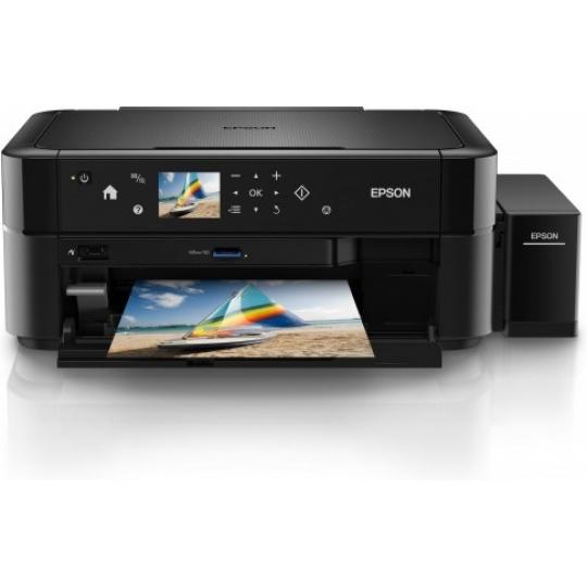 EPSON tiskárna ink EcoTank L850, 3v1, A4, 38ppm, USB,  LCD panel, Foto tiskárna,  6ink, 3 roky záruka po registraci