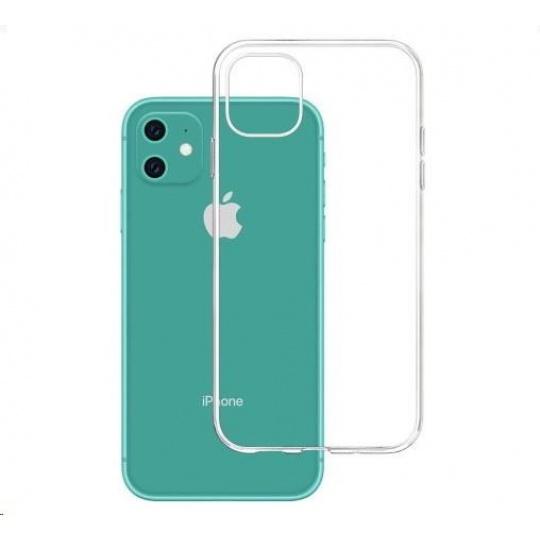 3mk ochranný kryt Clear Case pro Apple iPhone 11, čirý