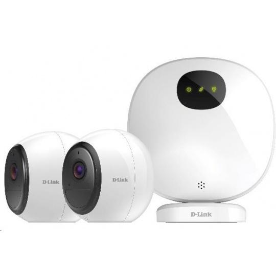D-Link DCS-2802KT mydlink™ Pro Wire-Free Camera Kit, 2x DCS-2800LH + 1x H100