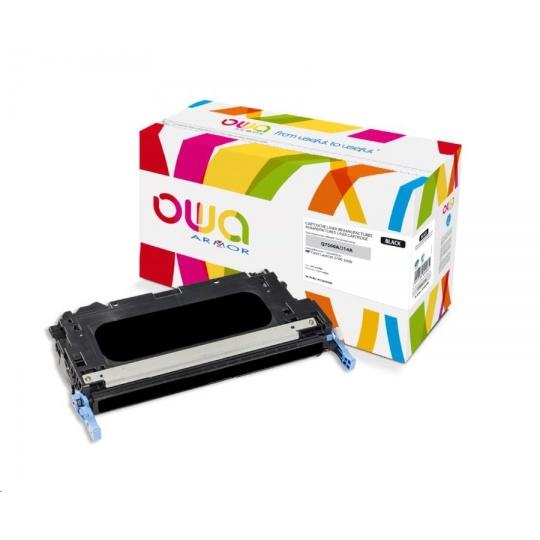 OWA Armor toner pro HP Color Laserjet 2700, 3000, 6500 Stran, Q7560A, černá/black