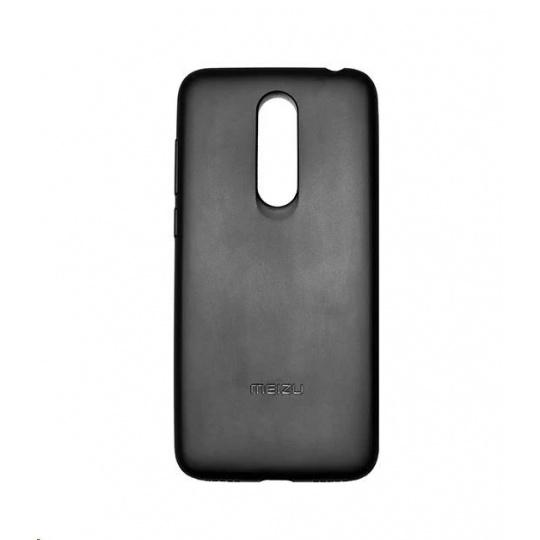 MEIZU TPU zadní kryt + HD ochranná folie pro Meizu M6T, černá