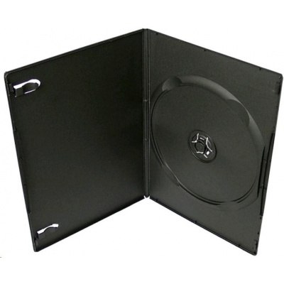 OEM Krabička na 1 DVD slim 9mm černá (balení 100ks)