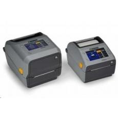 Zebra ZD621t, 12 dots/mm (300 dpi), cutter, disp., RTC, USB, USB Host, RS232, BT, Ethernet, Wi-Fi, grey