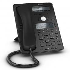 Snom IP telefon D745, 12 SIP, grafický displej, 10/100/1000 Mbps, Wi-Fi, USB, PoE
