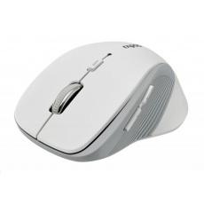 RAPOO myš 3910, laserová, bezdrátová, bílá