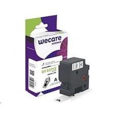 WECARE ARMOR páska pro DYMO S0720930, černá/bílá, 24mm x 7m