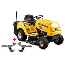 Riwall RLT 92 H POWER KIT travní traktor se zadním výhozem a hydrostatickou převodovkou