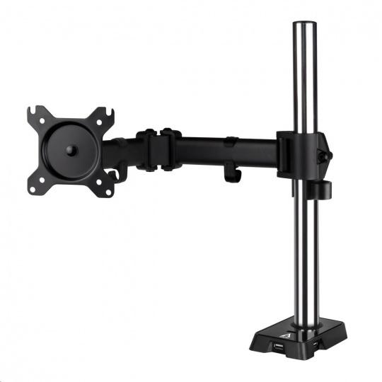 """ARCTIC stolní držák Z1 (Gen.3) pro 1x LCD do 43"""", nosnost 15kg, USB HUB, černý (black)"""