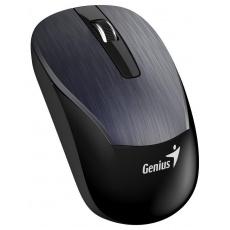 GENIUS myš ECO-8015/ 1600 dpi/ dobíjecí/ bezdrátová/ kovově šedá