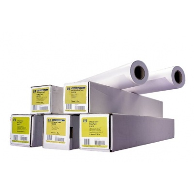 HP Bright White Inkjet Paper-914 mm x 91.4 m (36 in x 300 ft),  24 lb,  90 g/m2, C6810A