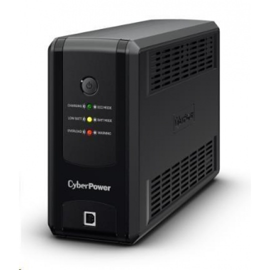 CyberPower UT GreenPower Series UPS 850VA/425W, German SCHUKO zásuvky