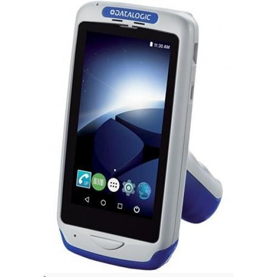 Datalogic Joya Touch Plus, 2D, BT (BLE), Wi-Fi, NFC, Gun, modrá, grey, WEC 7