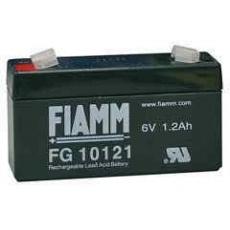 Baterie - Fiamm FG10121 (6V/1,2Ah - Faston 187), životnost 5let