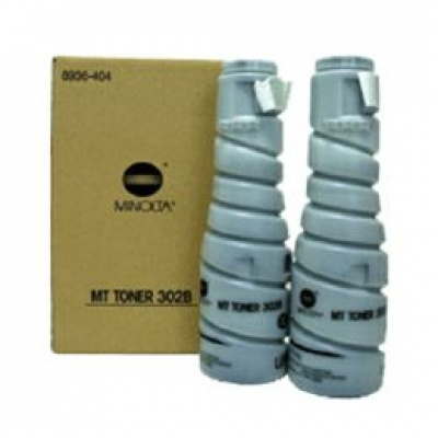 Minolta Tonerkit 302 B do Di 250/f/350/f, Di251/351(2x413g)