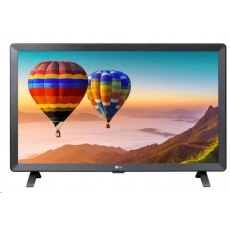 "LG MT TV LCD 23,6""  24TN520S - 1366x768, HDMI, USB, DVB-T2/C/S2, repro, SMART"