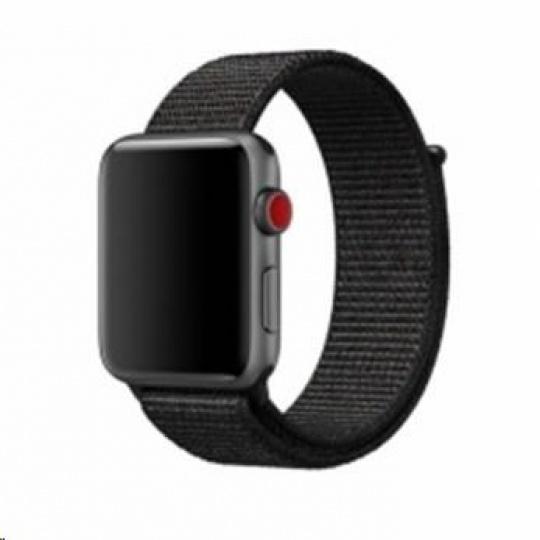 eses nylonový řemínek 42mm černý pro apple watch