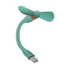 SPEED LINK ventilátor SL-600500-TECL, AERO, velikost mini, USB, zelená