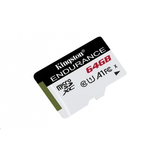 Kingston 64GB microSD XC High Endurance, 95R Class 10 UHS-I U1