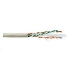 UTP kabel LYNX, Cat6, drát, PVC, Dca, šedý, 305m