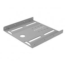 """AXAGON RHD-125S, kovový rámeček pro 1x 2.5"""" HDD/SSD do 3.5"""" pozice, šedý"""