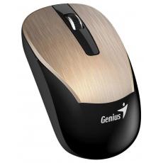 GENIUS myš ECO-8015/ 1600 dpi/ dobíjecí/ bezdrátová/ zlatá