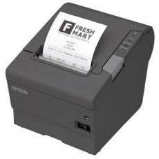 EPSON TM-T88V pokladní tiskárna, USB + serial, tmavá, se zdrojem
