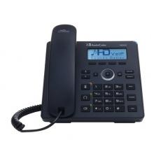 AudioCodes IP telefon 420HD, grafický displej, 10/100/1000 Mbps, PoE, černá