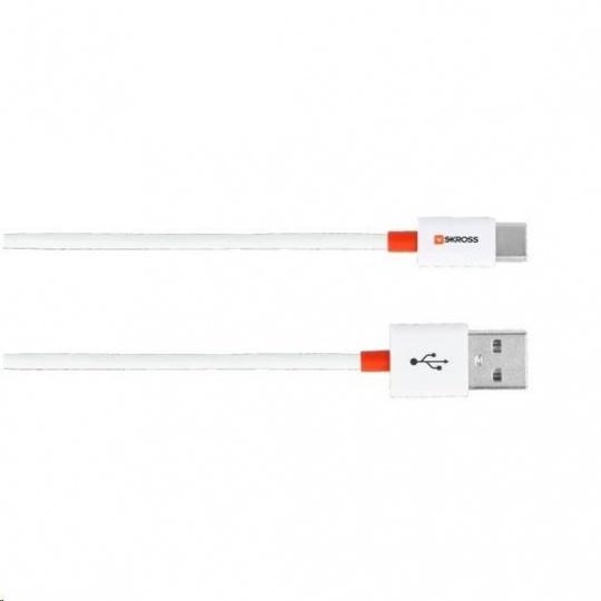 SKROSS USB kabel Travel Size Charge'n Sync , délka 2m, Typ-C konektor