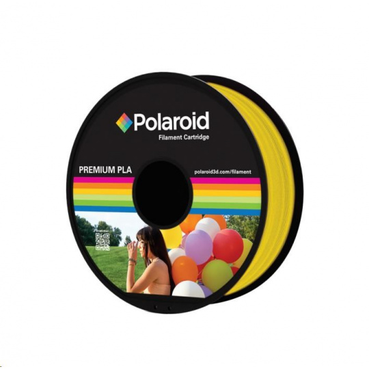 Polaroid 1kg Universal Premium PLA filament, 1.75mm/1kg - Transparent Yellow
