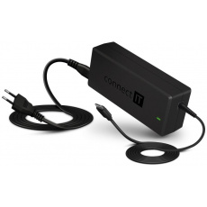 CONNECT IT univerzální notebookový adaptér MacPower, USB-C, PD 65 W
