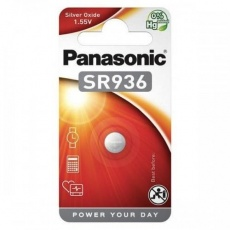PANASONIC Stříbrooxidové - hodinkové baterie SR-936EL/1B 1,55V (Blistr 1ks)